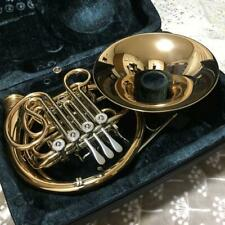 Hans Hoyer French horn 802GAL used in Japan