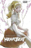 Heartbeat Comic 1 Cover B Variant Mirka Andolfo First Print 2019 Llovet Boom