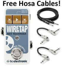 New TC Electronic Wire Tap Riff Recorder Guitar Effects Pedal! WireTap