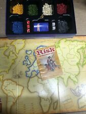 RISK - THE WORLD CONQUEST GAME 2004 board game, complete VGC Parker