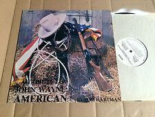 TOM HARTMAN - A TRIBUTE TO JOHN WAYNE: AMERICAN - LP - ARTCO LP-ART-10-1268
