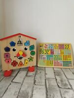 Wooden clock puzzle And Jigsaw Puzzle