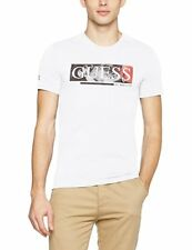 Tee shirt Guess manches courtes Homme M72I28 Blanc