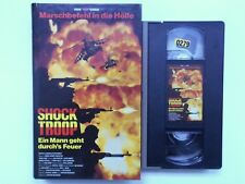 VPS VIDEO - SHOOK TROOP / ACTION KRIEGSFILM *HARTBOX* VHS ONLY! NO DVD! / FSK 18