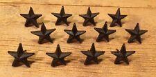 "Cast Iron Nail Star 2"" wide  Western DIY Crafts (Set of Twelve) 0170S-02111"