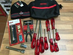 AIRCRAFT TOOLS CRAFTSMAN & GEARWRENCH BIG JOB LOT, TORCH PLIERS SCREWDRIVERS ETC