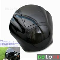 Motorcycle Quarter Fairing Windshield for Harley Sportster XL 88-16 Dyna 1995-05