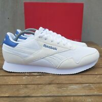 Reebok Classic Royal Jogger 3.0 White Blue Blast Mens Retro Running Trainers
