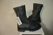 CHAUSSURE BOOTS RANGERS ARGUEYROLLES ARMEE FRANCAISE TAILLE 45 BOTTE CUIR NEUF