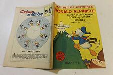 LES BELLES HISTOIRES DE DISNEY  8 SPTEMBRE  1954 donald ALPINISTE