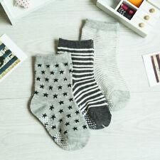 12 Pairs Toddler Socks Anti Slip Knit Ankle Cotton Grip Socks For Baby Toddler