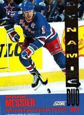 1993-94 Score Dynamic Duos American #5 Mark Messier, Adam Graves