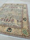 Peshwar Rug Hand Knotted 8x10 Mint Condition