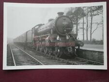 PHOTO  LNER THOMPSON CLASS B1 4-6-0 61031 AT BATTERSBY 2/5/64 RCTS 'NORTH EASTER