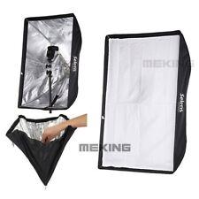 Meking 60×90cm Flash Reflective Umbrella Speedlite Studio Softbox with Diffuser