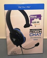 Turtle Beach NEW EAR FORCE RECON CHAT GAMING HEADSET Sony Playstation 4 PS4 Pro