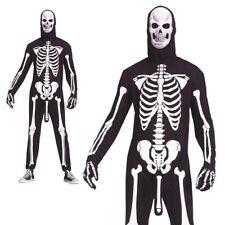 Adulte Skele-Boner Déguisement Squelette Halloween Nouveauté Amusant Costume