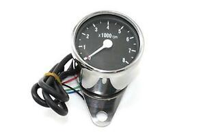 Mini 60mm Electronic Tachometer for Harley Davidson and customs V-Twin # 39-0392