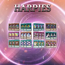 HARPIES DECK CORE | 36 Cards | LED4 Sisters of the Rose YuGiOh PERFUMER, ORACLE