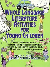 Whole Language Ready-to-use Literature Activities For Over 50 Books