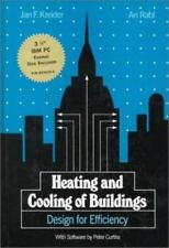 Heating and Cooling of Buildings: Design for Efficiency