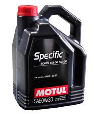 5 litros Motul Específico Vw/audi 506 01-506 00-503 00 0w30
