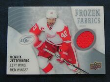 2014-15 14/15 UD Ice Frozen Fabrics Henrik Zetterberg Detroit Red Wings
