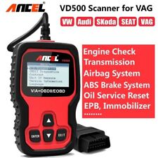 ABS Airbag Transmission Diagnostic Scanner Car OBD2 Code Reader For VW Audi
