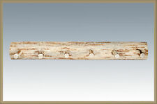 LOG Wall Mounted Coat Rack Wood Pegs Wooden Amish Made Lodge Cabin Decor 4 ft
