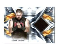 WWE Kevin Owens 2019 Topps Undisputed Blue Shirt Relic Card SN 23 of 25