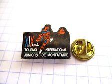 PINS RARE VINTAGE SPORT TOURNOI INTERNATIONAL JUNIORS DE MONTATAIRE wxc 34