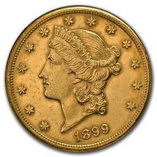 Piece or 20 dollars USA Liberty années variées 20$ gold coin Eagle random year