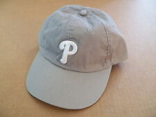 Philadelphia Phillies Gray Baseball Cap New without Tags