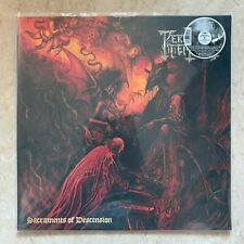 PERDITION TEMPLE Sacraments Of Descension LP ORANGE / BLACK MARBLED VINYL