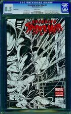 Avenging Spider-Man #1-CGC 8.5 VF+ Quesada Limited 1:200 Variant Sketch Cover