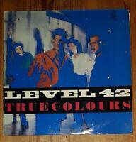 Level 42 – True Colours Vinyl LP Album 33rpm 1984 Polydor – POLH 10  A1-B1
