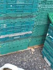 More details for 10 x plastic bale / bail arm tray / crate / box all sizes storage / removal