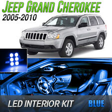 2005-2010 Jeep Grand Cherokee Blue LED Lights Interior Kit