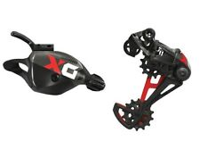 SRAM X01 Eagle Trigger Shifter & Rear Derailleur, 12 Speed, Red/Black