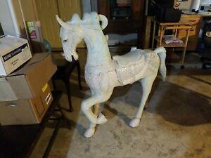 Resin Carousel Horse