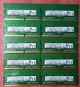 SK Hynix Job Lot 10x4GB DDR4 PC4 2133P 2133MHz SODIMM Laptop RAM Memory 260pin