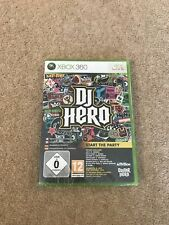 DJ Hero (Game Only) (Xbox 360) - Free Postage