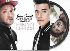 JAN SMIT & KRAANTJE PAPPIE - Handen omhoog CD SINGLE 2TR Dutch cardsleeve 2014