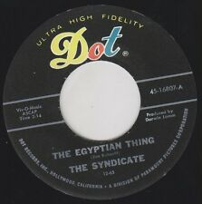 "SYNDICATE Egyptian Thing DOT Re. 45 7"" Savage Stompin 1965 Garage Punk BFTG HEAR"