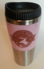 Mossy Oak Travel Mug with Pink Trim Coffee Tea Hot Drinks Gift Stainless Steel