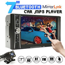 2DIN 7inch Car MP5 Player FM Bluetooth Touch Screen Stereo Radio USB/TF/AUX+Cam