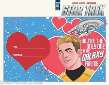 Star Trek Ongoing #54 Valentines Day Card Variant Comic Book 2016 - IDW