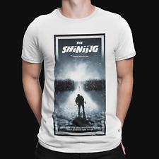 The Shining Snow T-Shirt - Film TV Cool Retro Horror Funny Sci Fi 90s Xmas Gift