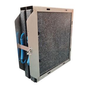 2 Kranplatten Kranabstützplatten Stützplatten 400x400x40mm incl. Doppelhalterung
