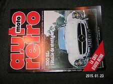 Auto moto Retro n°3 300 SL Restaurer Big Healey Jeep Cherokee Laredo